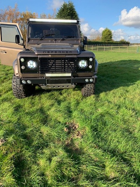 1988 Landrover Defender 90 with 200 tdi Engine For Sale (picture 4 of 6)