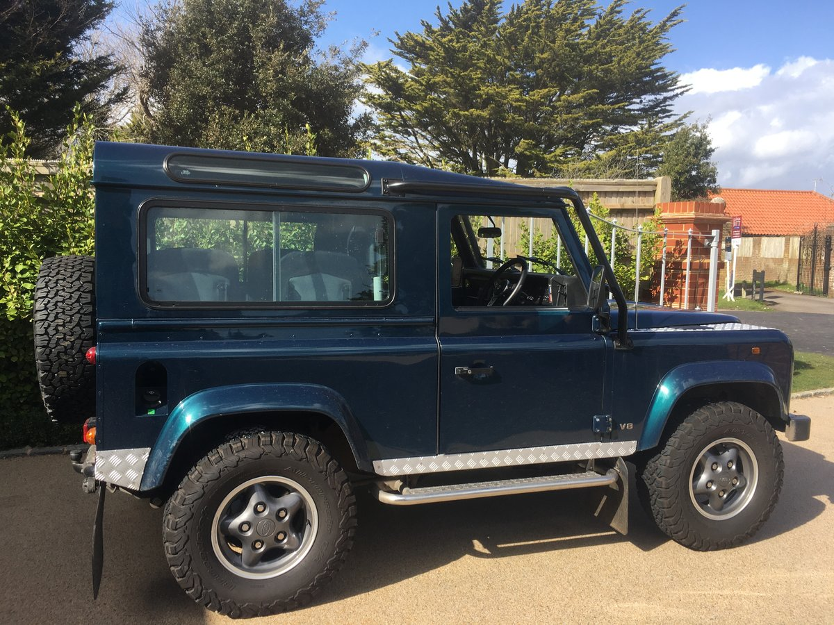 1998 Land Rover DEFENDER 90 50TH ANNIVERSARY For Sale (picture 1 of 4)