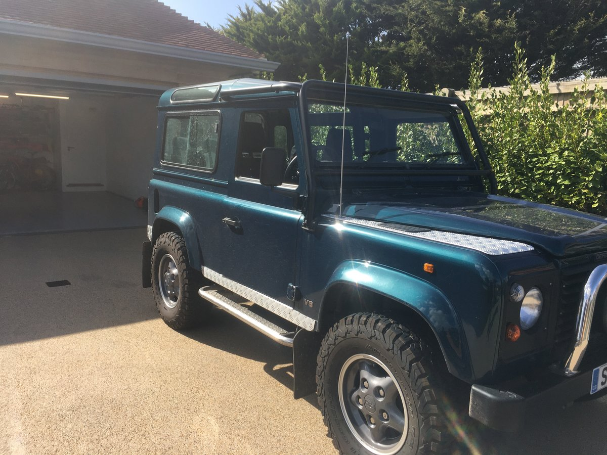 1998 Land Rover DEFENDER 90 50TH ANNIVERSARY For Sale (picture 2 of 4)