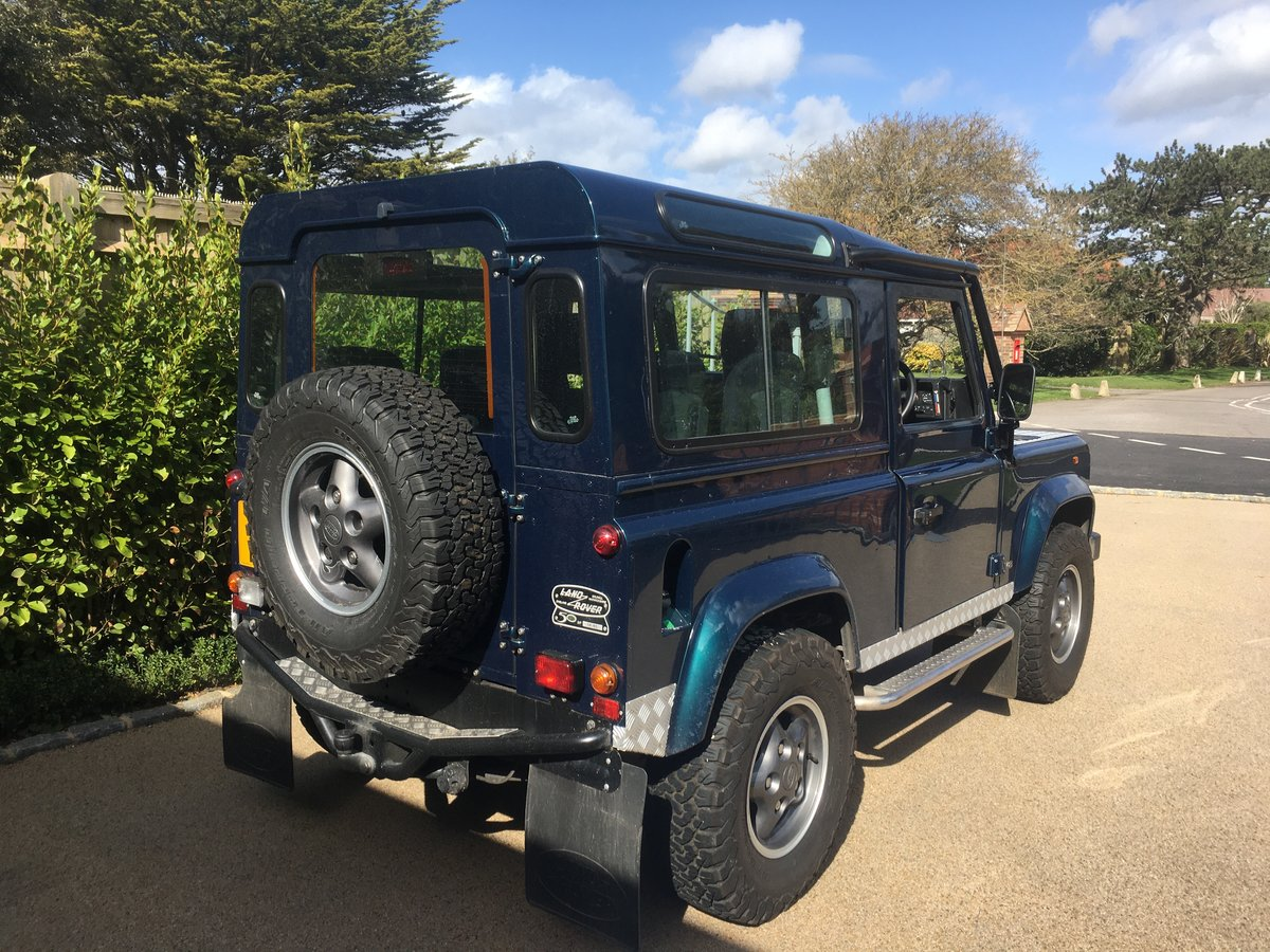 1998 Land Rover DEFENDER 90 50TH ANNIVERSARY For Sale (picture 3 of 4)