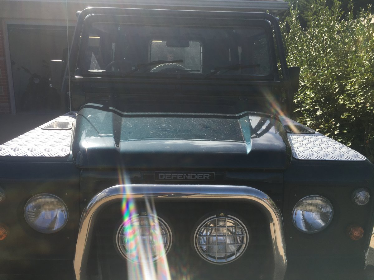 1998 Land Rover DEFENDER 90 50TH ANNIVERSARY For Sale (picture 4 of 4)