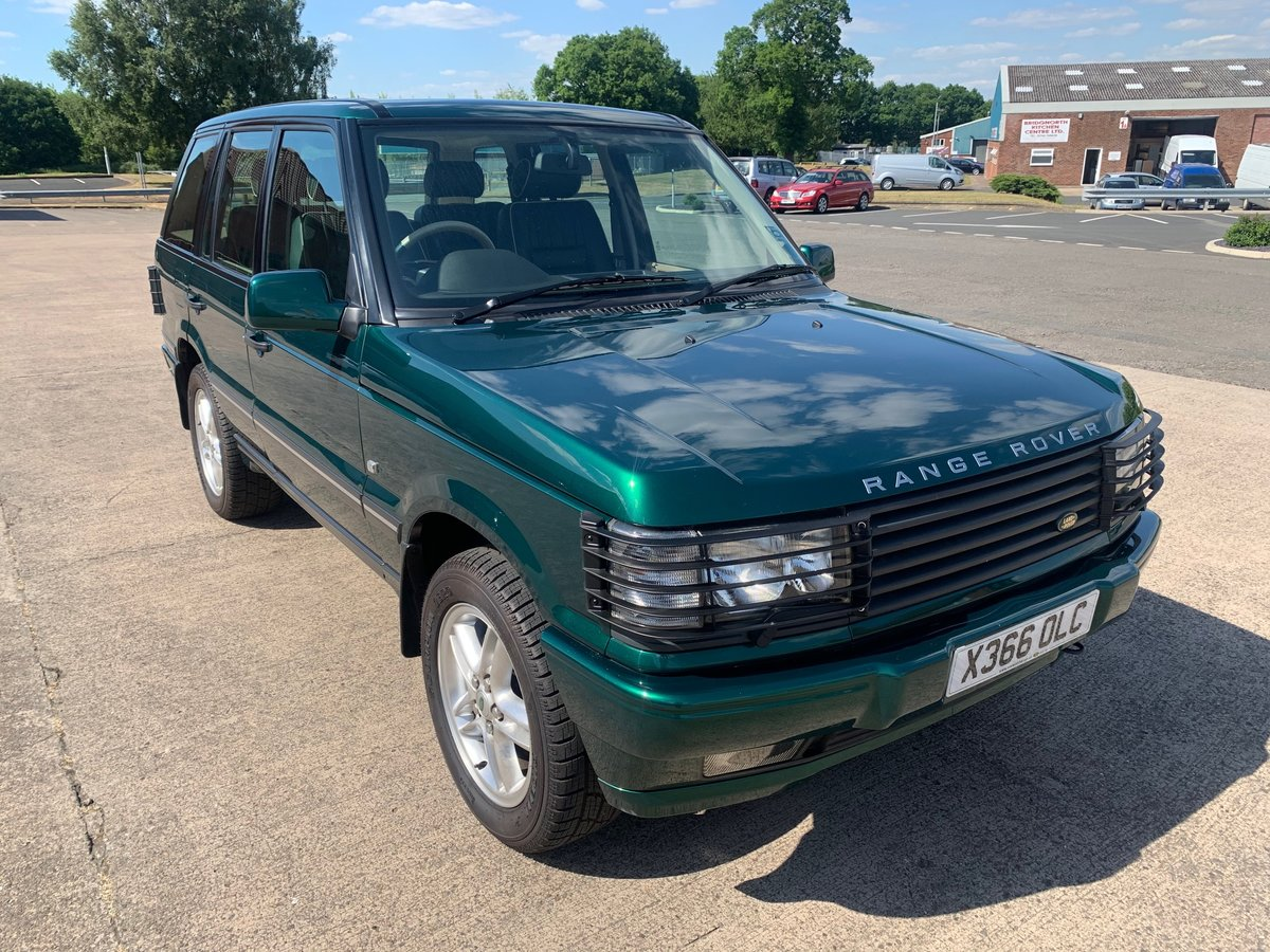2000 30th Anniversary Range Rover  For Sale (picture 1 of 6)