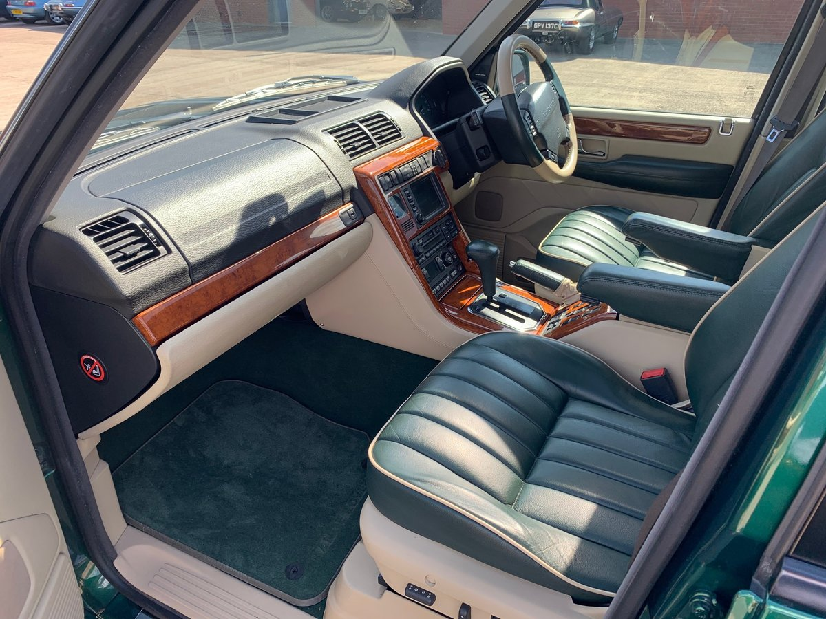 2000 30th Anniversary Range Rover  For Sale (picture 5 of 6)