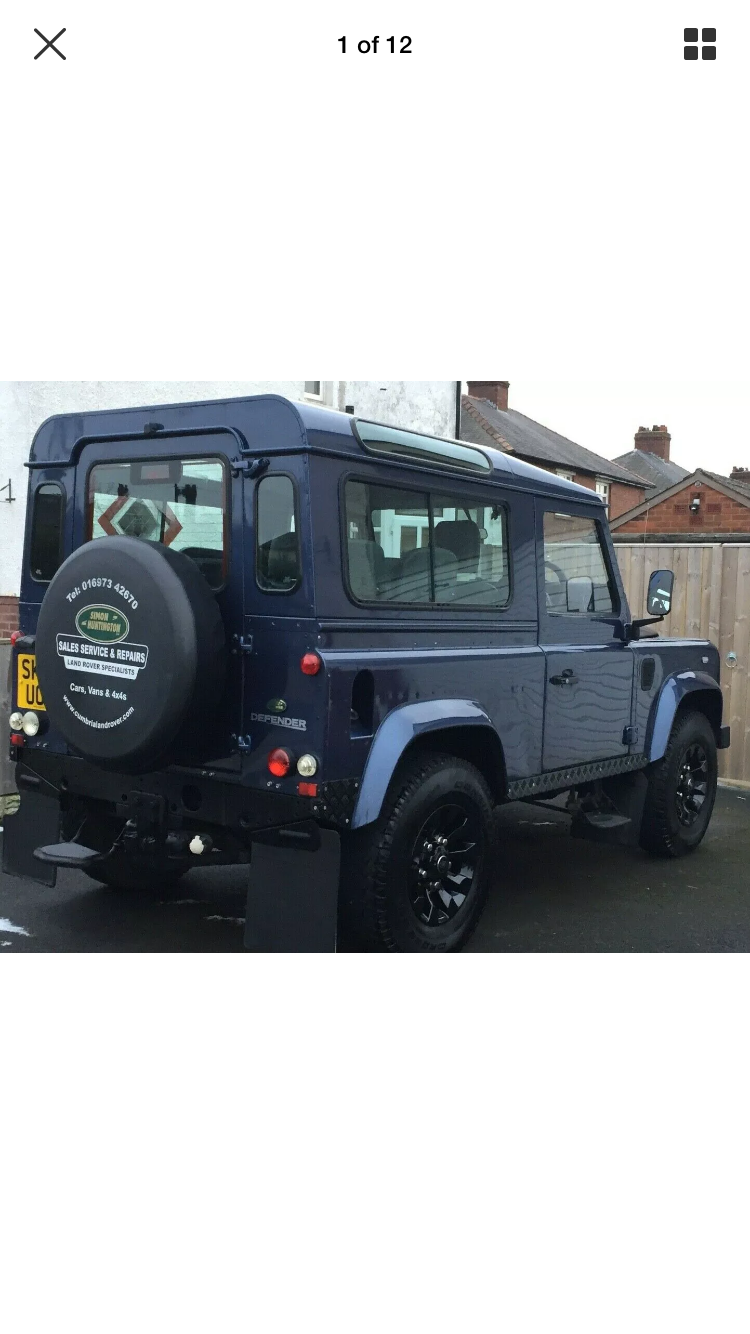 2003 Land Rover Defender 90  Station wagon SOLD (picture 2 of 6)