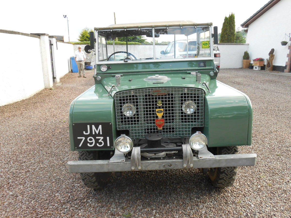 """1948 Land Rover 80"""" Series 1 SOLD (picture 1 of 6)"""