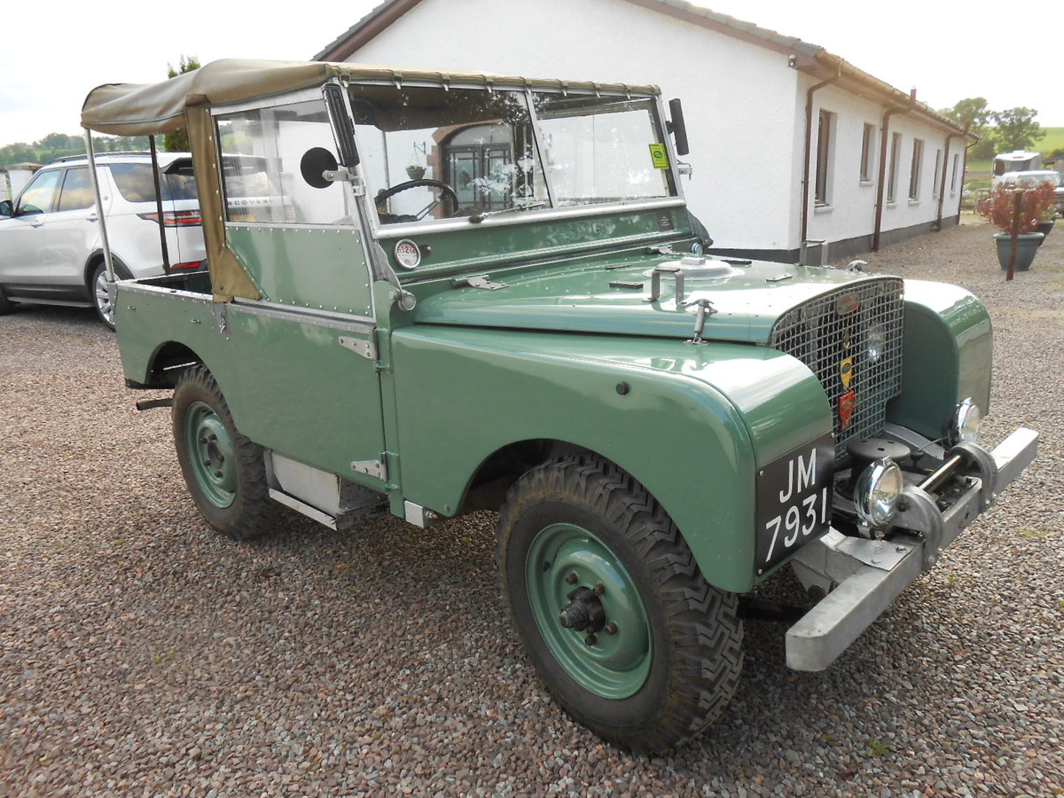 """1948 Land Rover 80"""" Series 1 SOLD (picture 2 of 6)"""