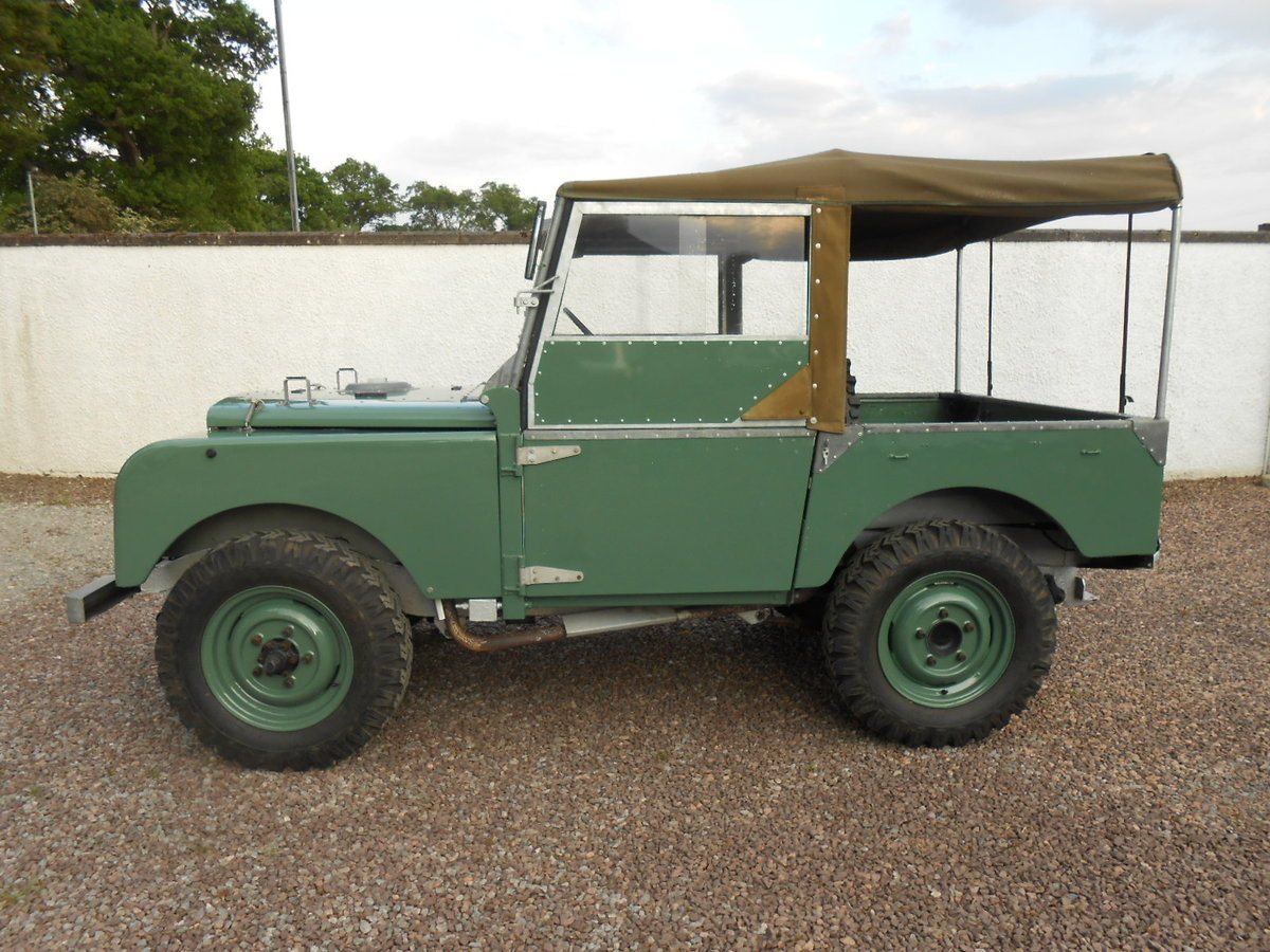 """1948 Land Rover 80"""" Series 1 SOLD (picture 3 of 6)"""