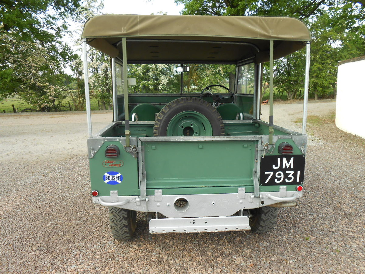 """1948 Land Rover 80"""" Series 1 SOLD (picture 4 of 6)"""