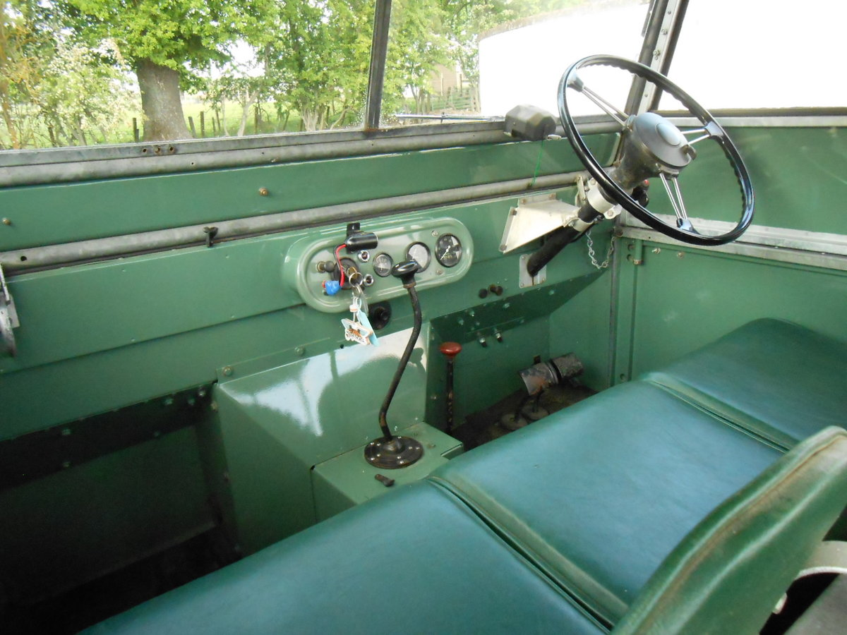 """1948 Land Rover 80"""" Series 1 SOLD (picture 5 of 6)"""
