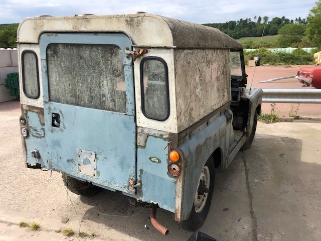 1963 Land Rover series 2a hardtop Restoration project For Sale (picture 2 of 6)