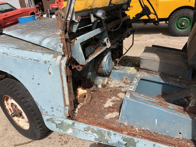 1963 Land Rover series 2a hardtop Restoration project For Sale (picture 4 of 6)