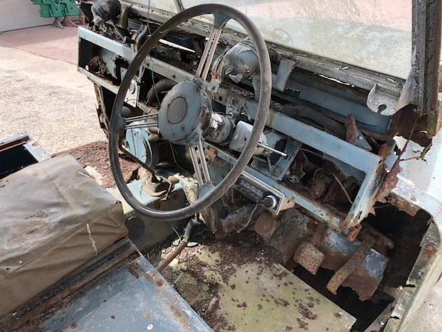 1963 Land Rover series 2a hardtop Restoration project For Sale (picture 5 of 6)