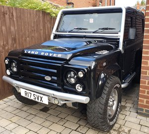 Land Rover Defender SVX 60th Anniversary Model