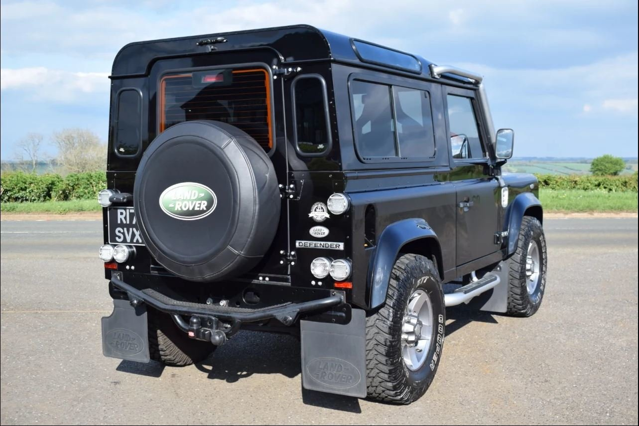 2008 Land Rover Defender SVX 60th Anniversary Model For Sale (picture 6 of 6)