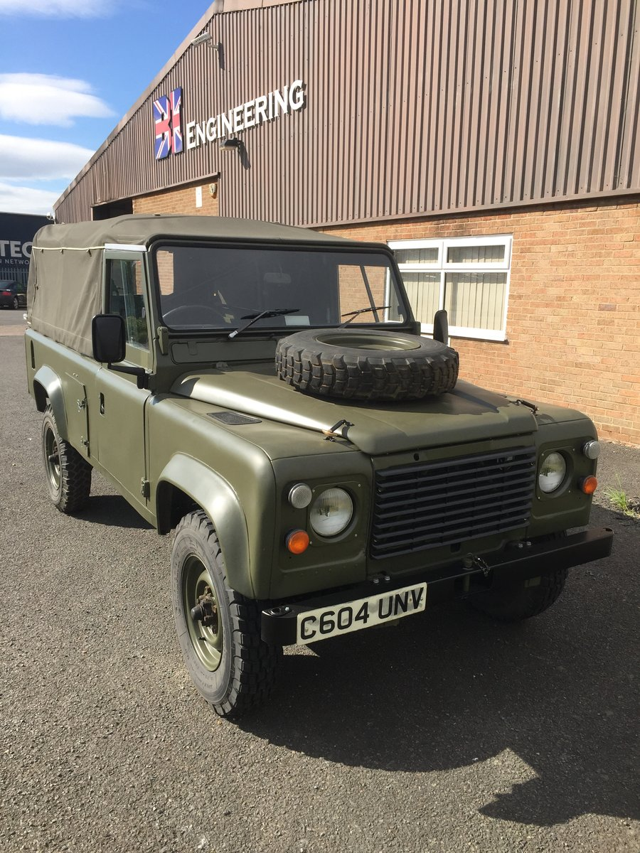 1986 Land rover defender 110 ex mod wolf SOLD (picture 1 of 6)