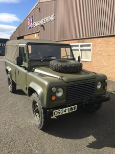 1986 Land rover defender 110 ex mod wolf For Sale