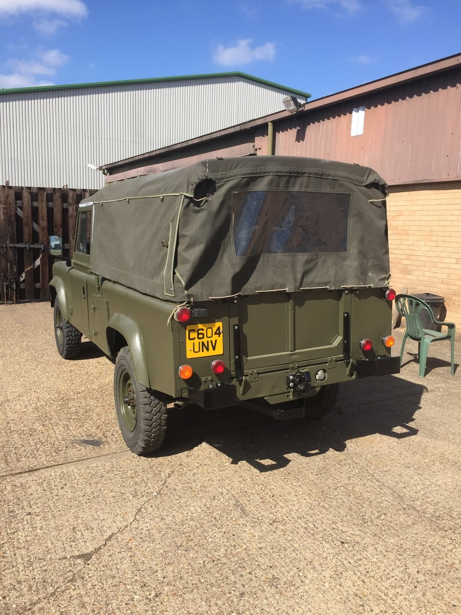 1986 Land rover defender 110 ex mod wolf SOLD (picture 2 of 6)