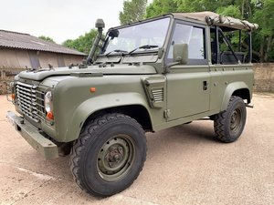 Picture of nice 1998 Defender 90 Wolf XD 300tdi soft top+REMUS upgrade SOLD