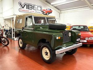 Land Rover Series 2 SWB // Full Nut & Bolt Restoration