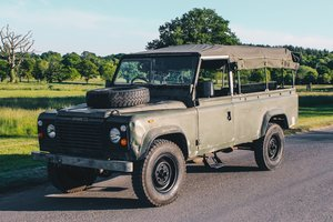 1986 Land Rover 110 2.5 N/A Soft Top Ex-Military Classi For Sale