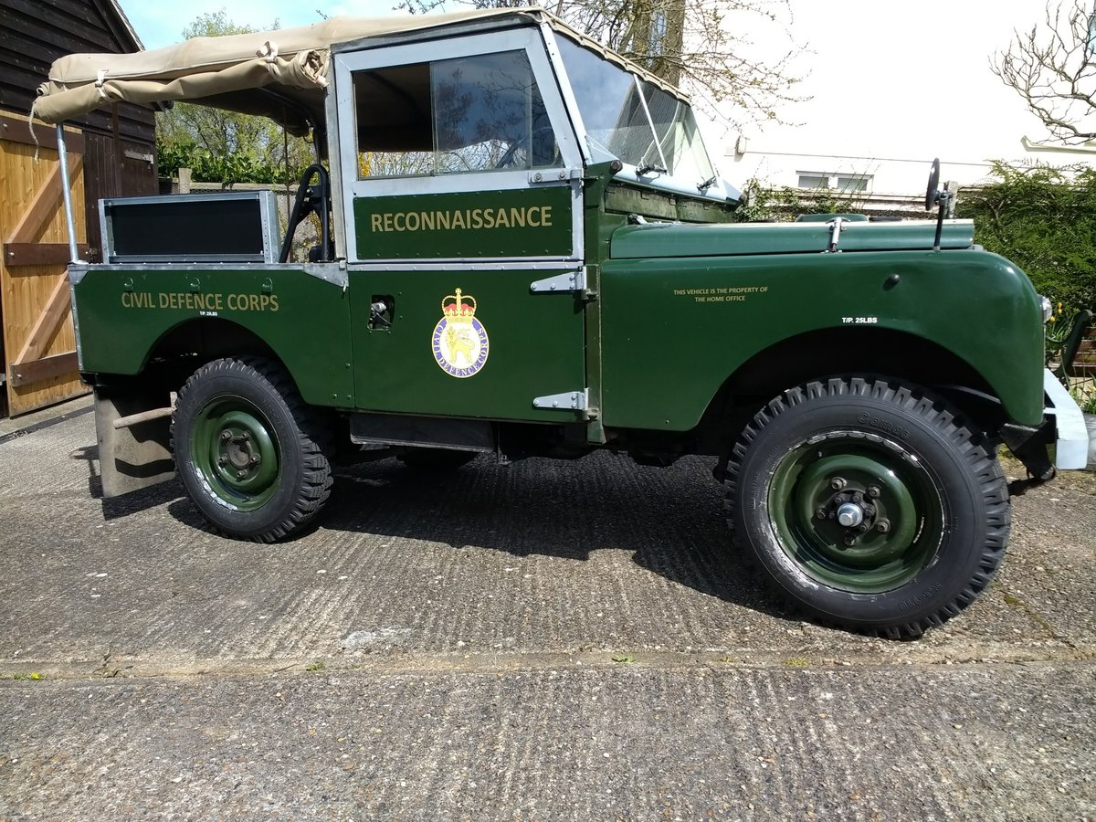 1957 Series One Genuine ex-Civil Defence Corps Vehicle SOLD (picture 1 of 6)