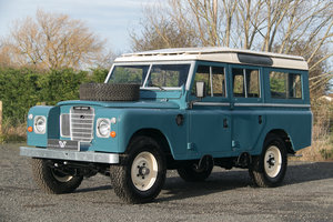 "1981 Land Rover Series 3 109"" Station Wagon Nut & Bolt Restoratio For Sale"