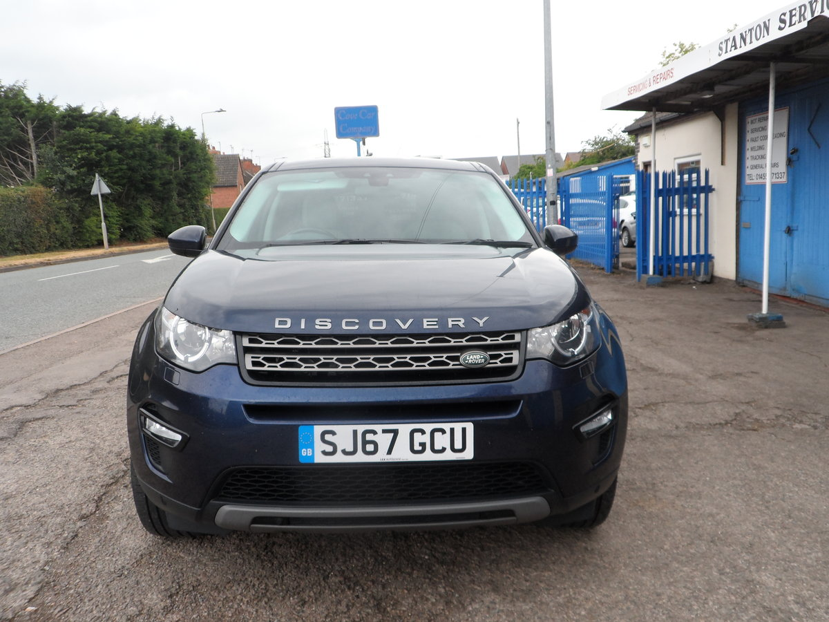 2017 67 PLATE 2LTR DIESEL 6 SPEED DISCOVERY S.E SPORT 4X4 66,700  For Sale (picture 1 of 6)