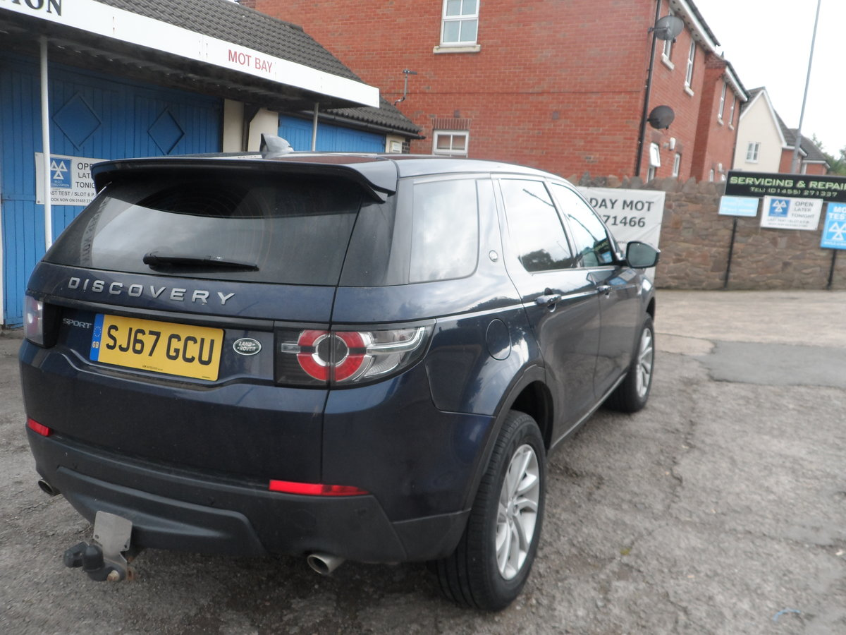 2017 67 PLATE 2LTR DIESEL 6 SPEED DISCOVERY S.E SPORT 4X4 66,700  For Sale (picture 6 of 6)