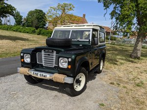 1972 Land Rover Series 3 County Station Wagon