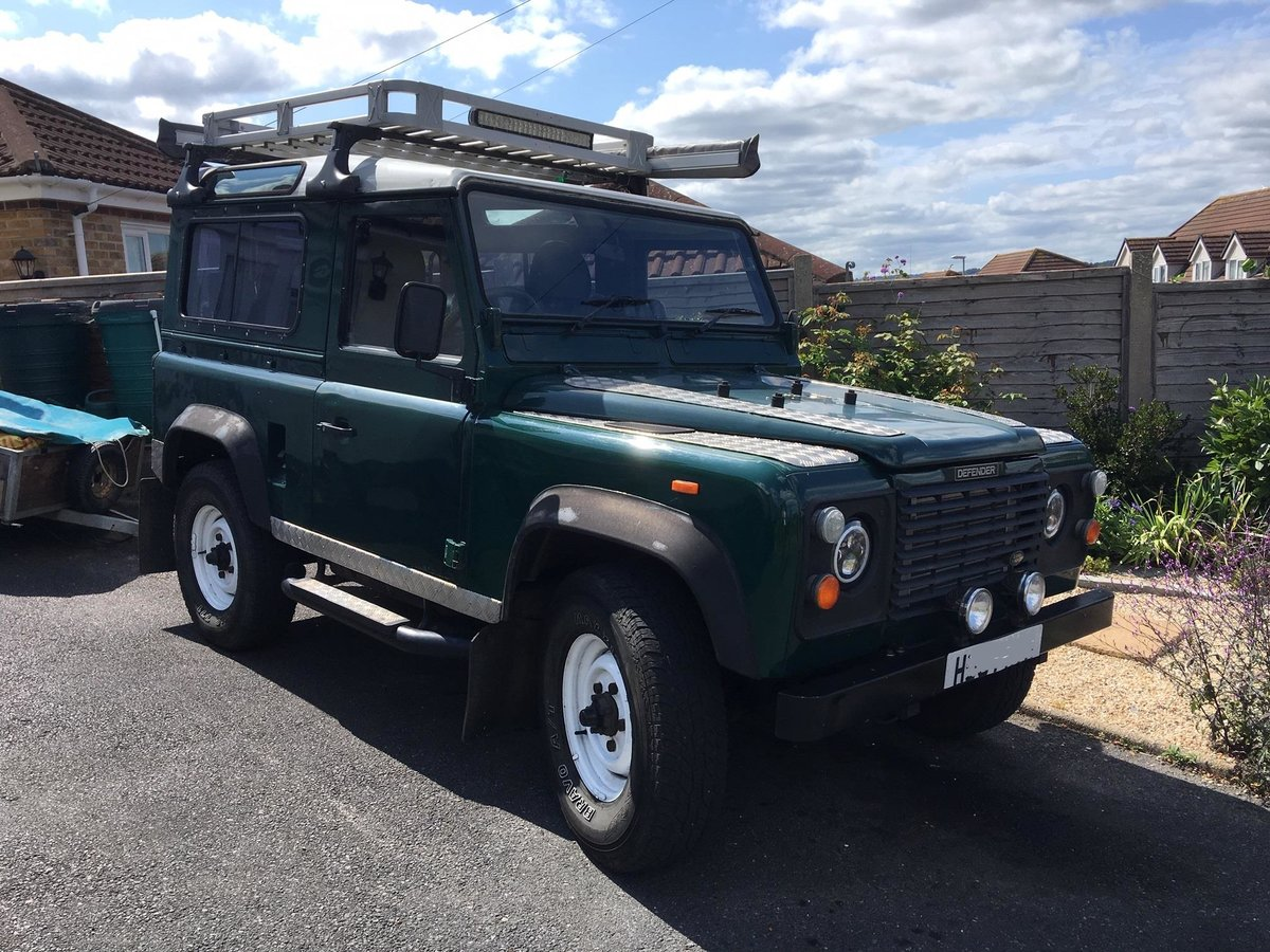 1991 Landrover Defender 90 200tdi 7 seats overland/camp For Sale (picture 1 of 6)