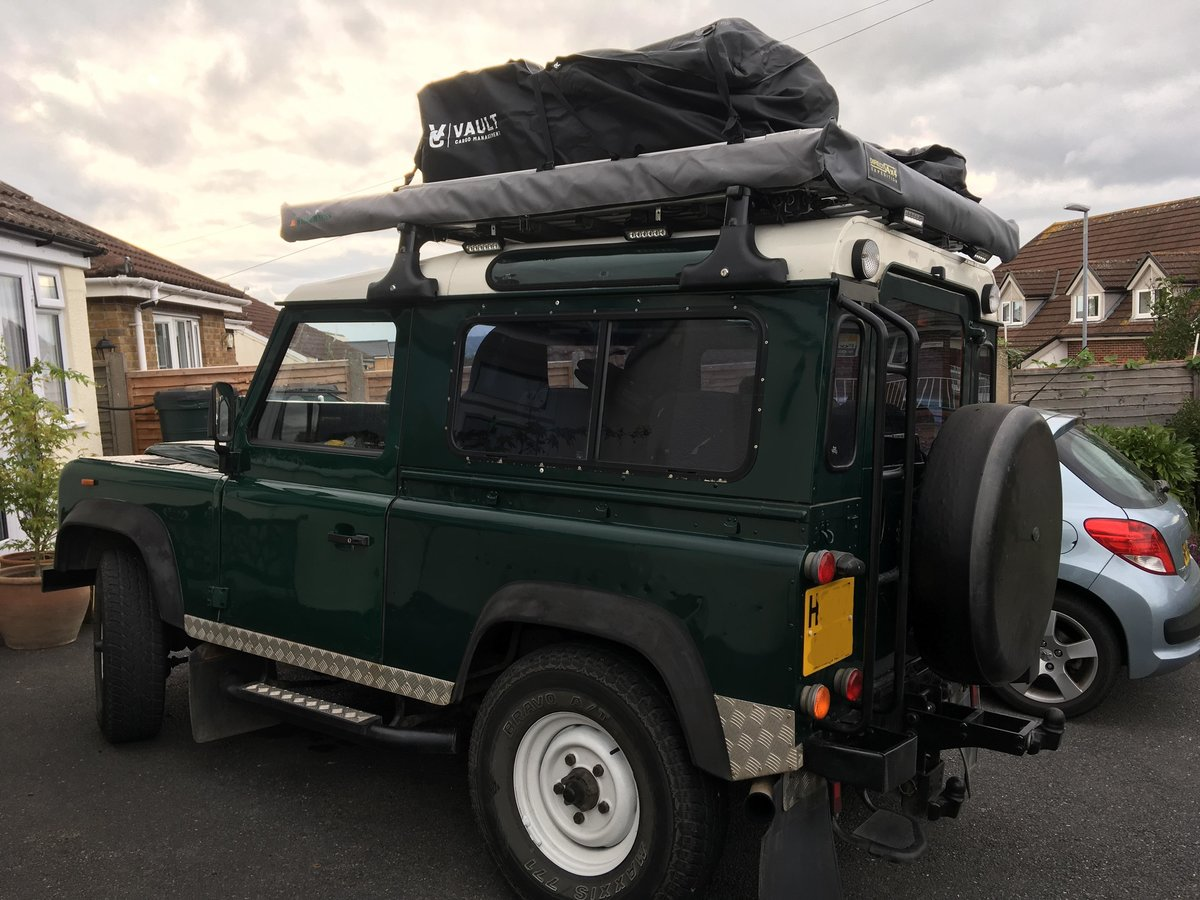 1991 Landrover Defender 90 200tdi 7 seats overland/camp For Sale (picture 2 of 6)
