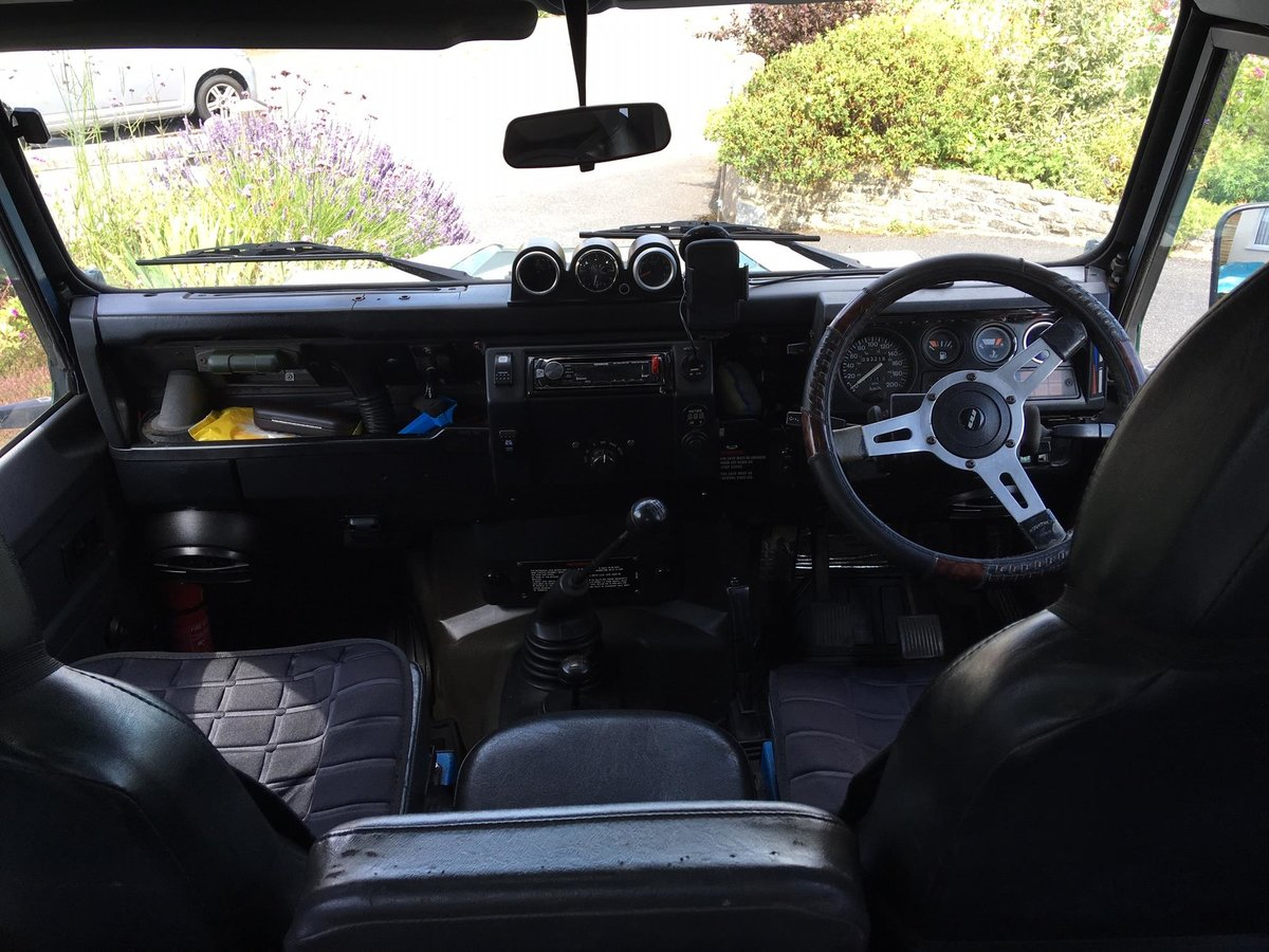 1991 Landrover Defender 90 200tdi 7 seats overland/camp For Sale (picture 4 of 6)