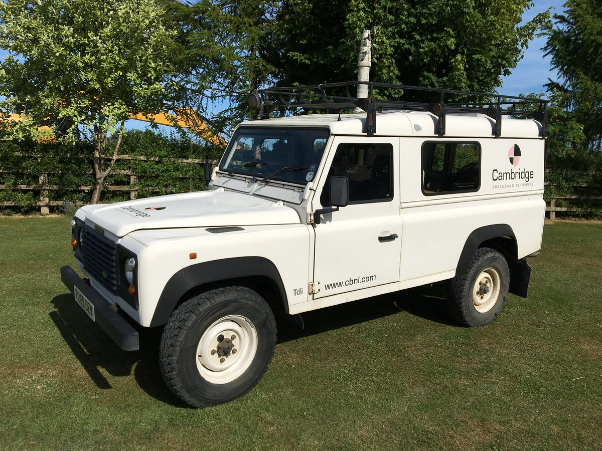 1997 Land Rover 110 300Tdi, only 47,728 miles 2 owners  For Sale (picture 1 of 6)