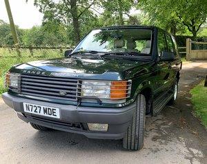 1996 Lovely Range Rover P38 - V8 4.6 HSE