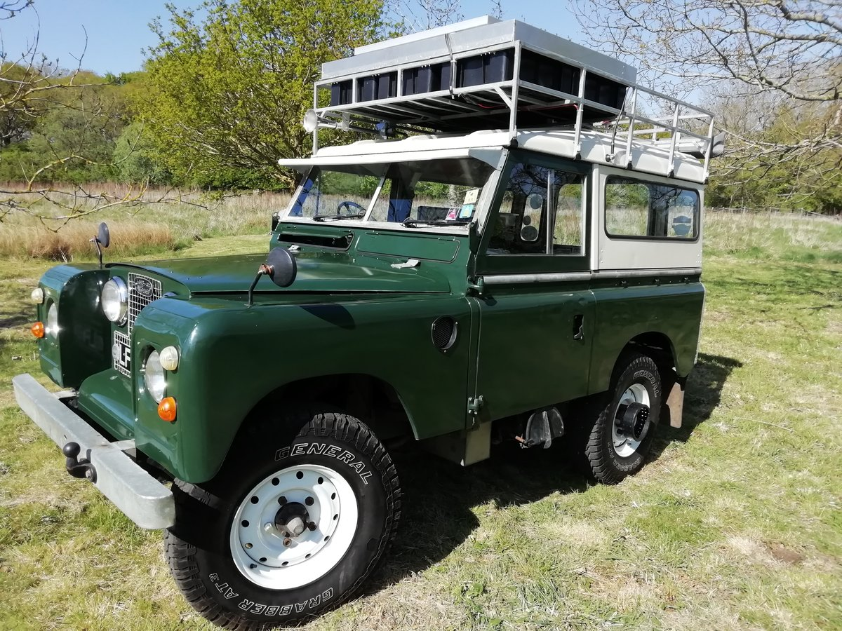 1967 Landrover series 2A overland camper FULLY KITTED For Sale (picture 1 of 6)