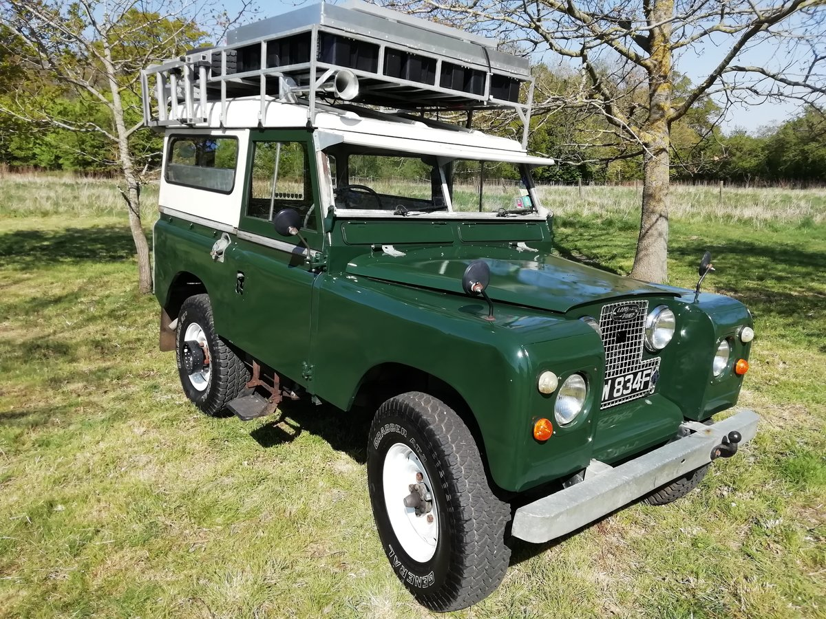 1967 Landrover series 2A overland camper FULLY KITTED For Sale (picture 2 of 6)