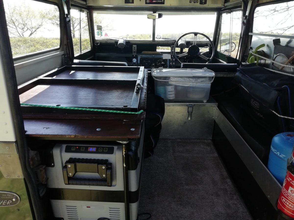 1967 Landrover series 2A overland camper FULLY KITTED For Sale (picture 3 of 6)