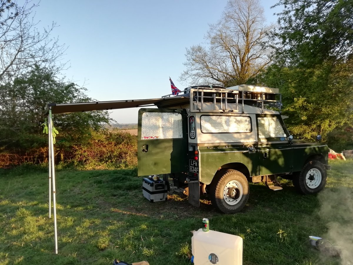 1967 Landrover series 2A overland camper FULLY KITTED For Sale (picture 5 of 6)