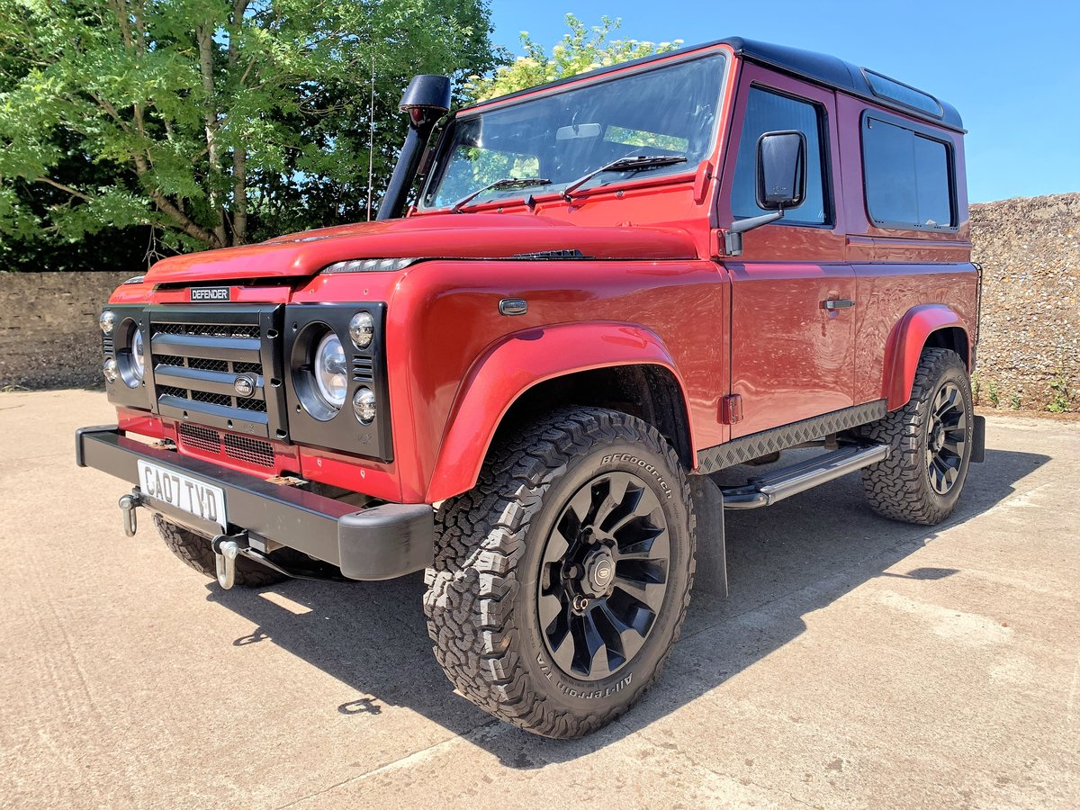 SUPERBLY UIPGRADED 2007 DEFENDER 90 TDCi CSW+STAGE 1 TUNE SOLD (picture 1 of 6)