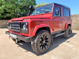 SUPERBLY UIPGRADED 2007 DEFENDER 90 TDCi CSW+STAGE 1 TUNE