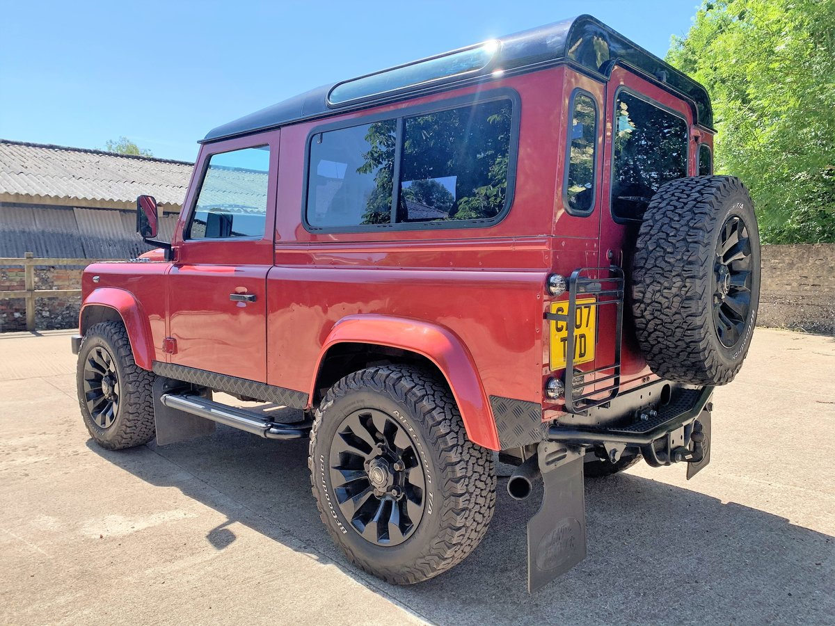 SUPERBLY UIPGRADED 2007 DEFENDER 90 TDCi CSW+STAGE 1 TUNE SOLD (picture 3 of 6)