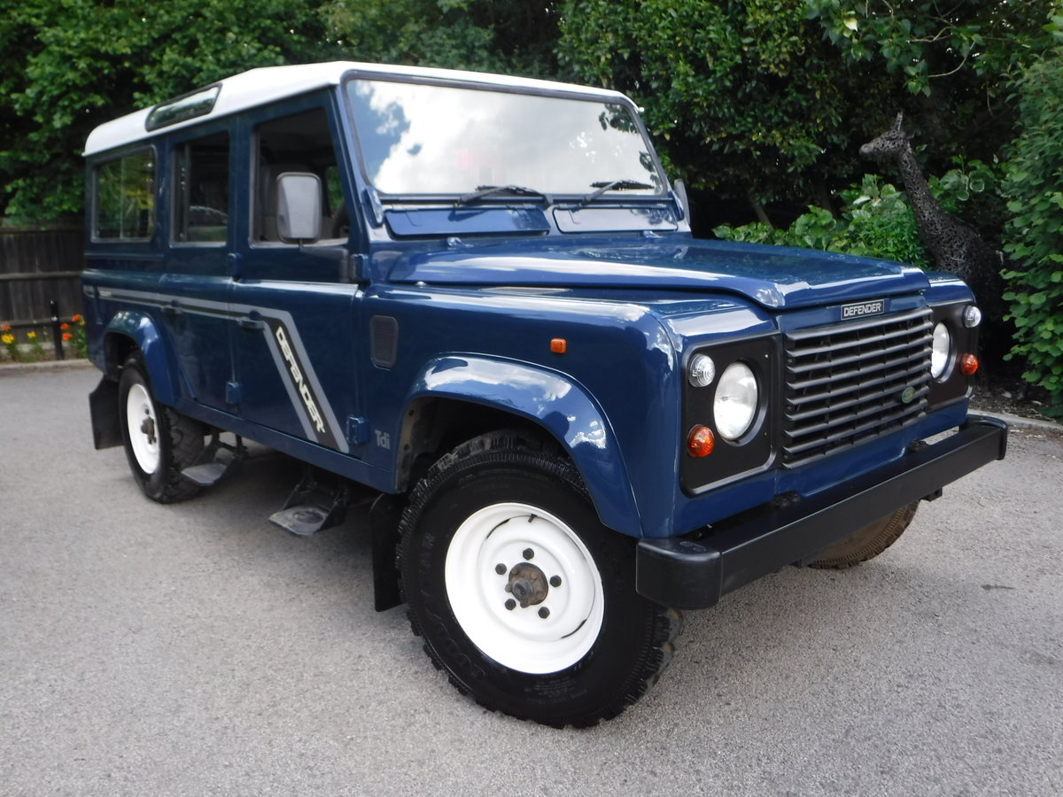 1998 Land Rover Defender 110 2.5 TDi County 5dr For Sale (picture 1 of 6)
