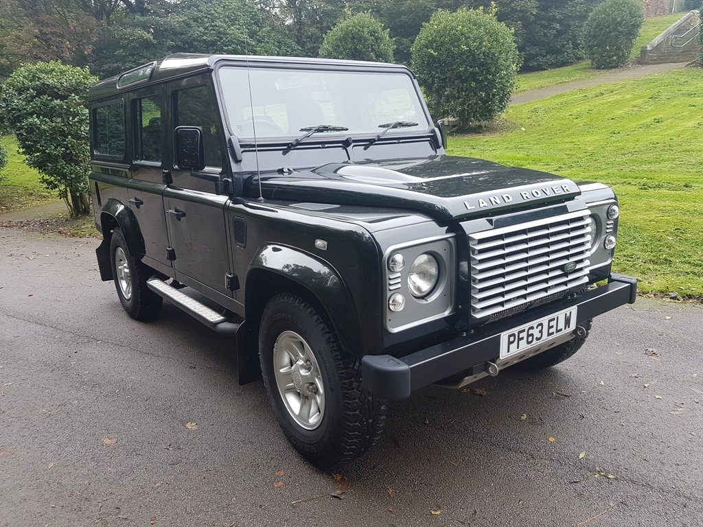 2014 LAND ROVER DEFENDER 110 XS TDCI COUNTY STATION WAGON For Sale (picture 1 of 6)
