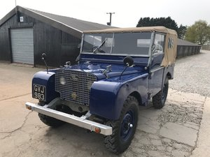 Land Rover® Series 1 80? 'LBTG' CELEB OWNED