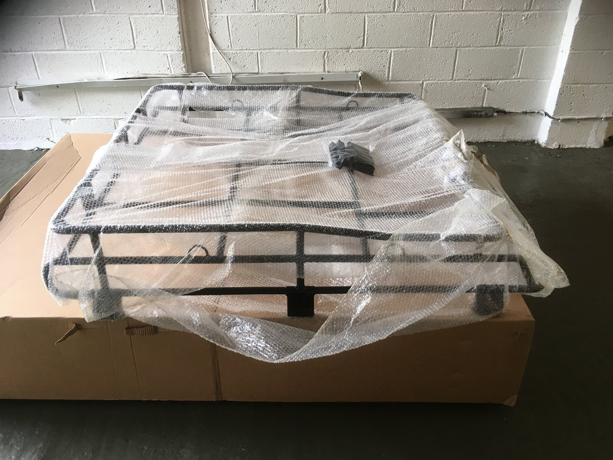 2016 Land Rover Defender 110 Genuine G4 Expedition Roof Rack For Sale (picture 1 of 4)