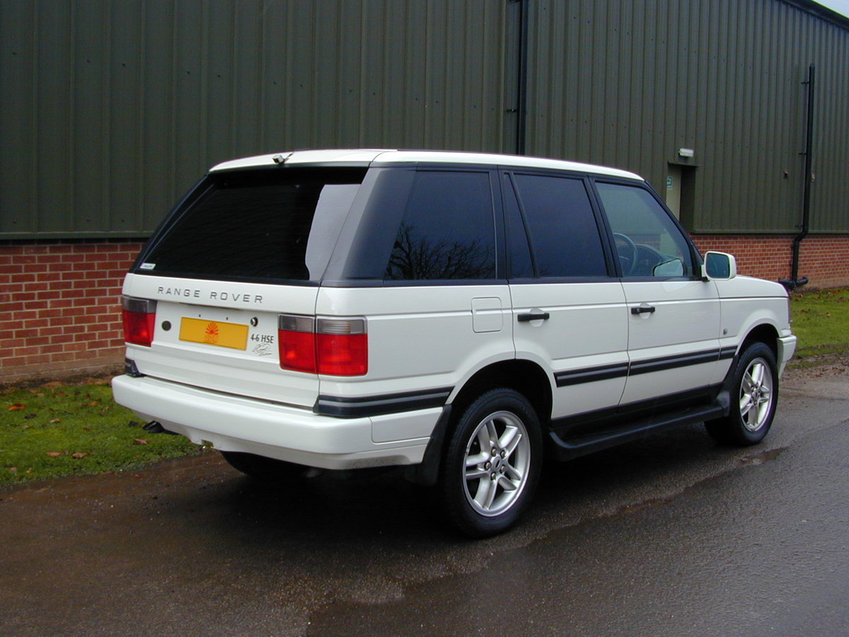 2002 RANGE ROVER P38 4.6 ROYAL EDITION - RHD - EX JAPAN!! For Sale (picture 3 of 6)