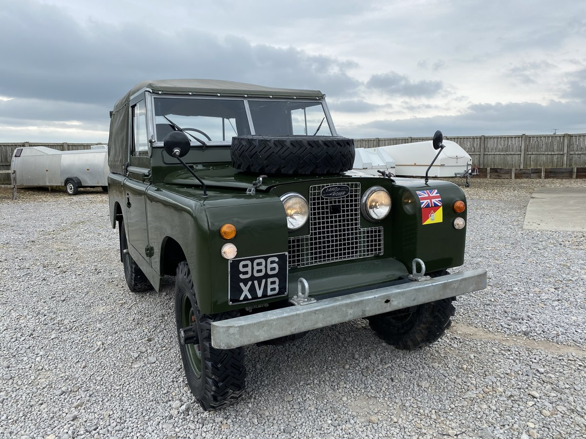 1960 Land Rover® Series 2a RESERVED For Sale (picture 1 of 6)