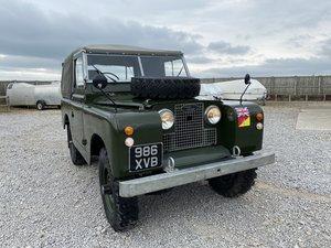 Land Rover® Series 2a *MOT & Tax Exempt Ragtop* (XVB)