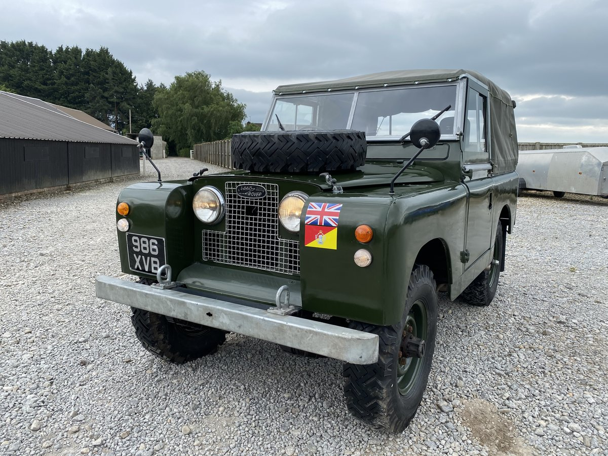 1960 Land Rover® Series 2a RESERVED For Sale (picture 2 of 6)