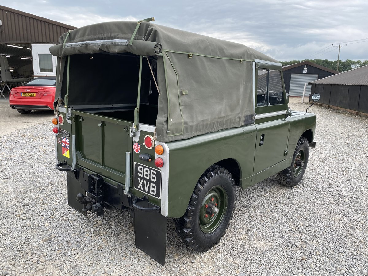 1960 Land Rover® Series 2a RESERVED For Sale (picture 3 of 6)